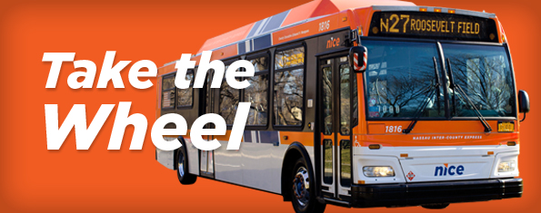 Nassau Inter County Express Nice Bus
